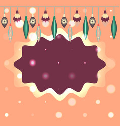 Template for christmas and new year card vector