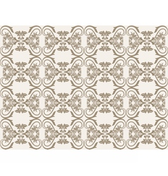 Vintage Damask floral classic pattern vector