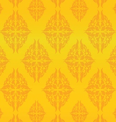 Patterns Thai 3 vector image vector image
