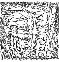 Texture scribble black vector