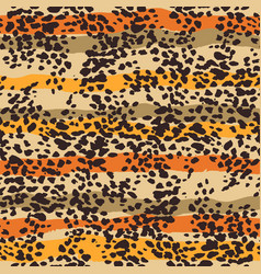 Abstract animal print seamless background vector