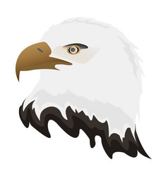 american eagle icon happy 4 th july and vector image