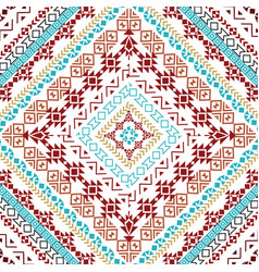 Beautiful tribal seamless pattern background vector