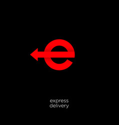 express and delivery logo vector image