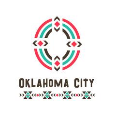 Oklahoma city logo vector