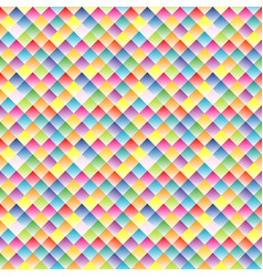 seamless pattern with small rhomboid shape vector image