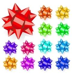 Set of bows vector