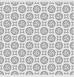 volleyball outline seamless background vector image