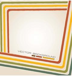 lines vintage vector image