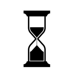 symbolic image of an hourglass vector image