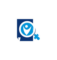 document health verified vector image