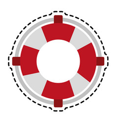 Life preserver belt icon image vector