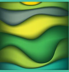 Abstract waves of color background vector