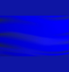 classic blue flag waving blank background vector image