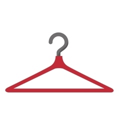 clothing hanger hook vector image