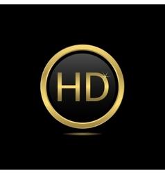 Golden HD vector