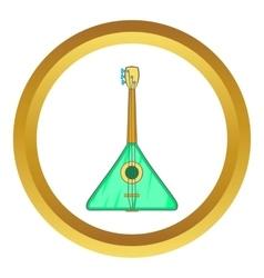 Guitar triangle icon vector image vector image