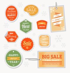 Sale christmas vector