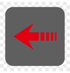 Send Left Rounded Square Button vector