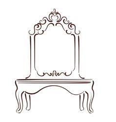 Sketched mirror vector
