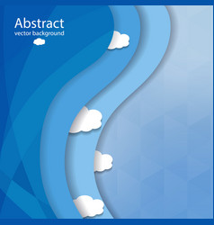 abstract elegant beautiful template vector image vector image