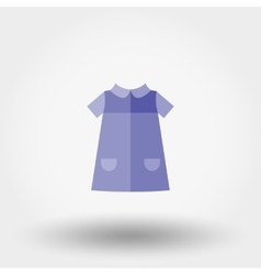 Baby Dress Icon vector image