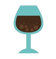 cup drink wine icon vector image