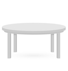 3d table mockup vector image