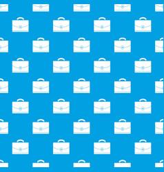 Diplomat pattern seamless blue vector