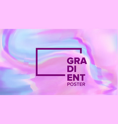 gradient fluid background colorful vector image