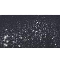 Magic glow and bokeh vector image