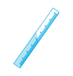 Ruler school utensil vector