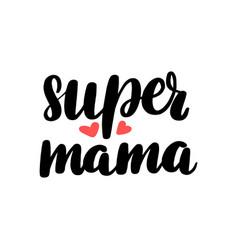 Super mama vector