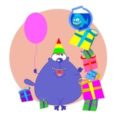 birthday vector image vector image