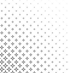 Abstract black and white thorn pattern design vector