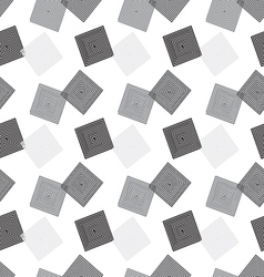 Background of seamless geometric patternsquare vector image