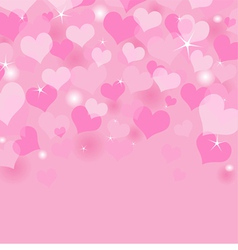 Beautiful valentines day background vector