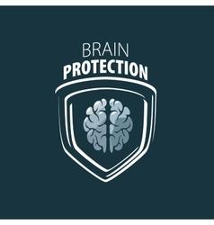 Brain logo vector