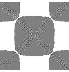 Design seamless monochrome square background vector