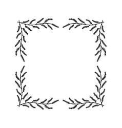 floral wreaths frames vector image