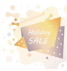 Holiday sale calligraphy calligraphic banner sale vector