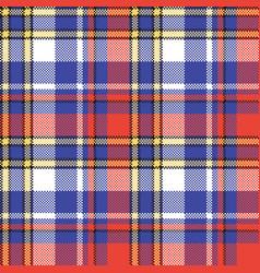Modern check plaid seamless pattern vector