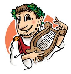 Roman man vector