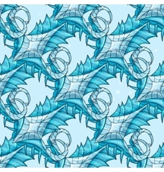 Seamless abstract pattern - ice vector image