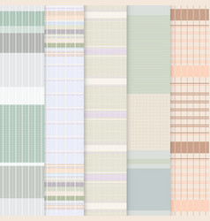 Thai loincloth pattern vector image