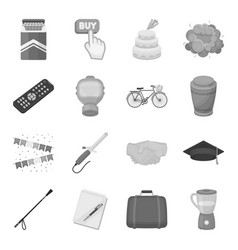 food sport religion and other web icon in vector image