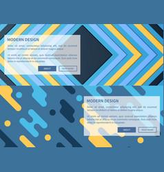 modern design transparent icon vector image vector image