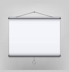 creative of empty meeting vector image