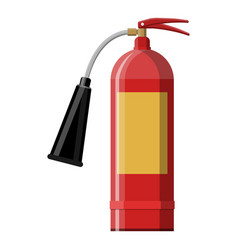 fire extinguisher fire equipment vector image