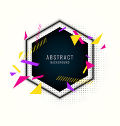 Abstract background with straight lines and vector